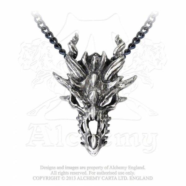 Nowości z Alchemy Gothic - Wisior smoczej królowej!