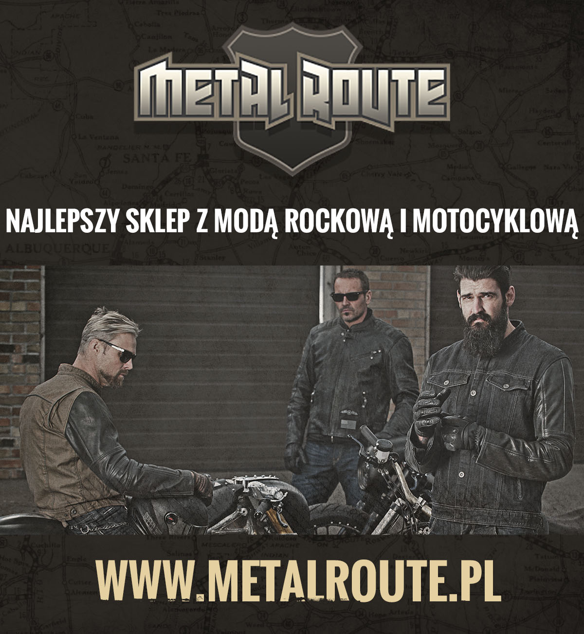 Moda rockowa i motocyklowa