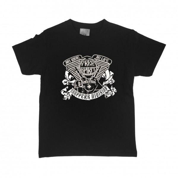 Koszulka dziecięca od CHOPPERS DIVISION w sklepie motocyklowym metalRoute!