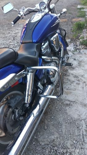 back engine guards STANDARD HONDA VTX 1800 C CUSTOM