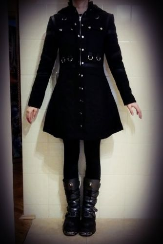 coat RESTYLE MILITARY