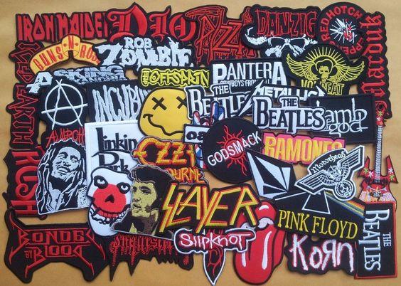 Patche w sklepie rockowym metalRoute!