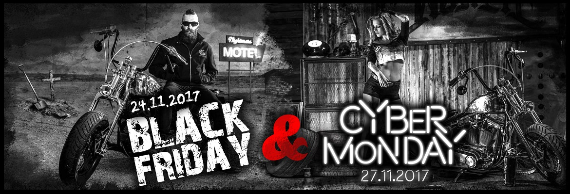 Black Friday & Cyber Monday w metalRoute!