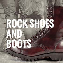 Rock And Motorcycle Shoes