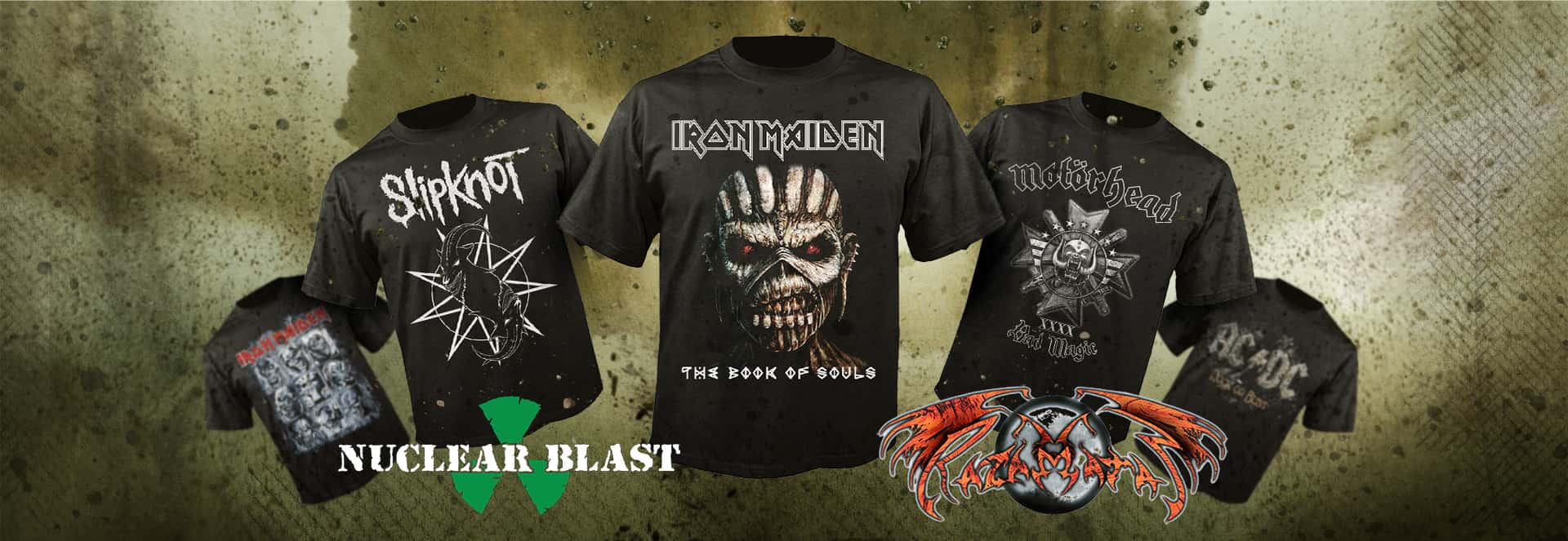 Licensed Merch from NUCLEAR BLAST and RAZAMATAZ