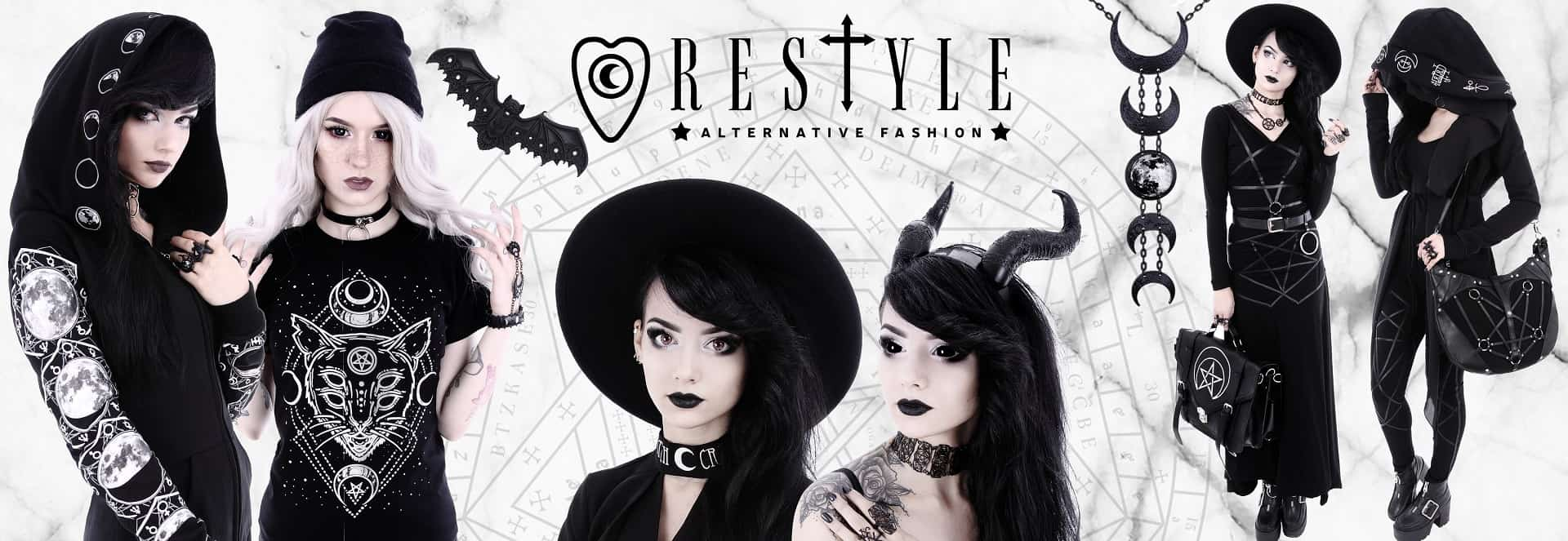 RESTYLE - gothic and alternative fashion in metalRoute!