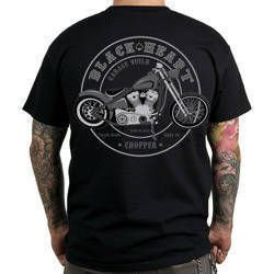 Short sleeve T-Shirt BLACK HEART GARAGE BUILD