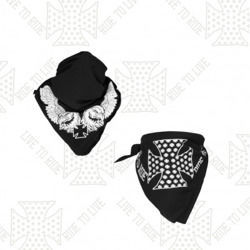 SET CHOPPERS DIVISION CROSS Headkerchief + Headkerchief