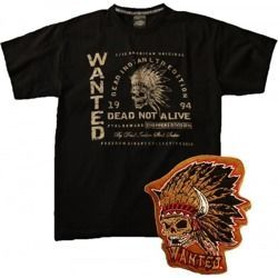 Set CHOPPERS DIVISION WANTED  Patch + T-Shirt