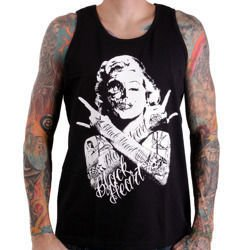 Tank Top BLACK HEART SKULL BITCH BOYS