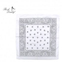 bandana ROCK DADDY PAISLEY WHITE