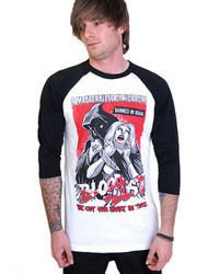 long sleeve T-Shirt DARKSIDE BLOOD LUST BASEBALL