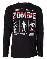 long sleeve T-Shirt DARKSIDE HOW TO KILL A ZOMBIE
