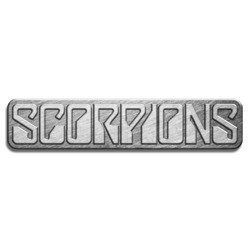 506e09a4e1abb pin badge RAZAMATAZ SCORPIONS LOGO