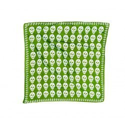 scarve ROCK DADDY BIG SKULLS APPLE GREEN