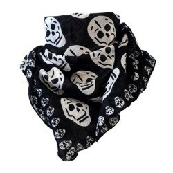 scarve ROCK DADDY BIG SKULLS BLACK
