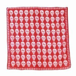 scarve ROCK DADDY BIG SKULLS RED