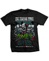 short sleeve T-Shirt DARKSIDE BRAIN EATERS