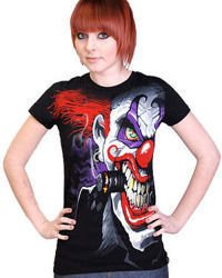 short sleeve T-Shirt DARKSIDE CLOWN