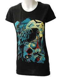 short sleeve T-Shirt DARKSIDE CROW