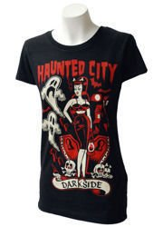short sleeve T-Shirt DARKSIDE HAUNTED CITY