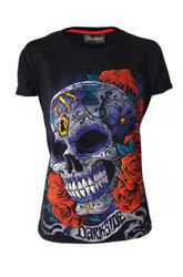 short sleeve T-Shirt DARKSIDE MEXICAN SUGAR SKULL