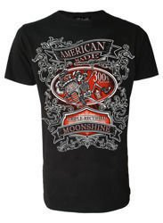 short sleeve T-Shirt DARKSIDE MOONSHINE