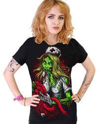 short sleeve T-Shirt DARKSIDE NURSE