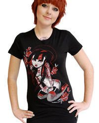 short sleeve T-Shirt DARKSIDE RUBY