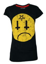 short sleeve T-Shirt DARKSIDE SATANS SMILEY