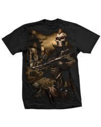 short sleeve T-Shirt DARKSIDE SKELETON WARRIOR