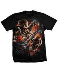 short sleeve T-Shirt DARKSIDE TEAR THROUGH
