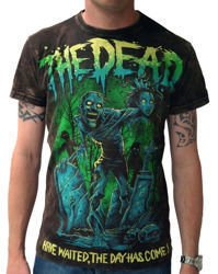 short sleeve T-Shirt DARKSIDE THE DEAD ACID WASH