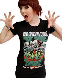 short sleeve T-Shirt DARKSIDE ZOMBIE BRAIN EATERS