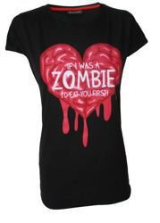 short sleeve T-Shirt DARKSIDE ZOMBIE EAT YOU FIRST