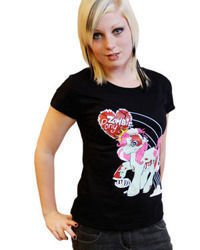 short sleeve T-Shirt DARKSIDE ZOMBIE PONY