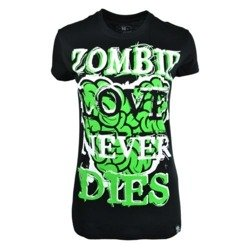 short sleeve T-Shirt POIZEN INDUSTRIES LOVE TO DIE