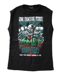sleeveless T-Shirt DARKSIDE BRAIN EATERS