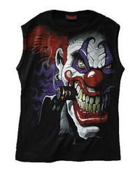 sleeveless T-Shirt DARKSIDE CLOWN