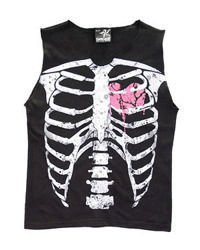 sleeveless T-Shirt DARKSIDE PINK RIBS