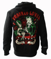 sweatshirt DARKSIDE FRANKEN LOVER