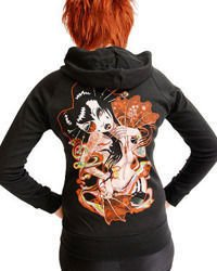 sweatshirt DARKSIDE GEISHA FAN
