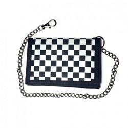 wallet ROCK DADDY IN BLACK/WHITE CHECKER DESIGN