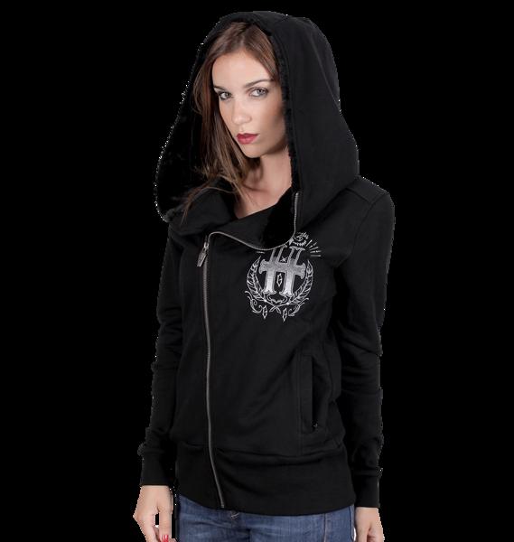 1dcdbdb63 sweatshirt HYRAW BLACK OWL | Women's Rock Fashion \ Sweatshirts Brands \ H  \ HYRAW | metalRoute.pl rock shop and motorcycle shop