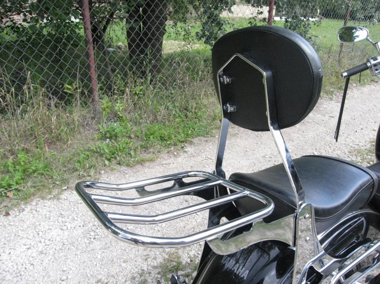 luggage rack model 2 standard yamaha xvs 1100 drag star classic