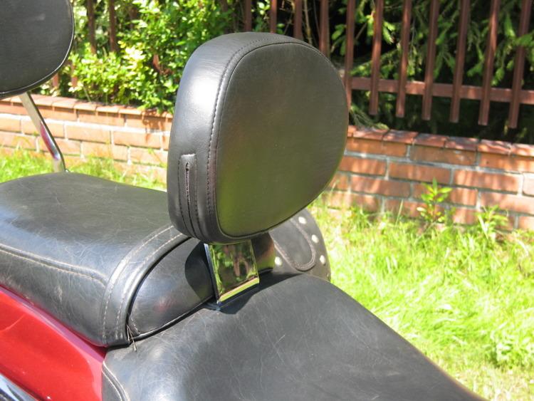 driver backrest HONDA VTX 1800 C CUSTOM | Brands \ M \ METALROUTE