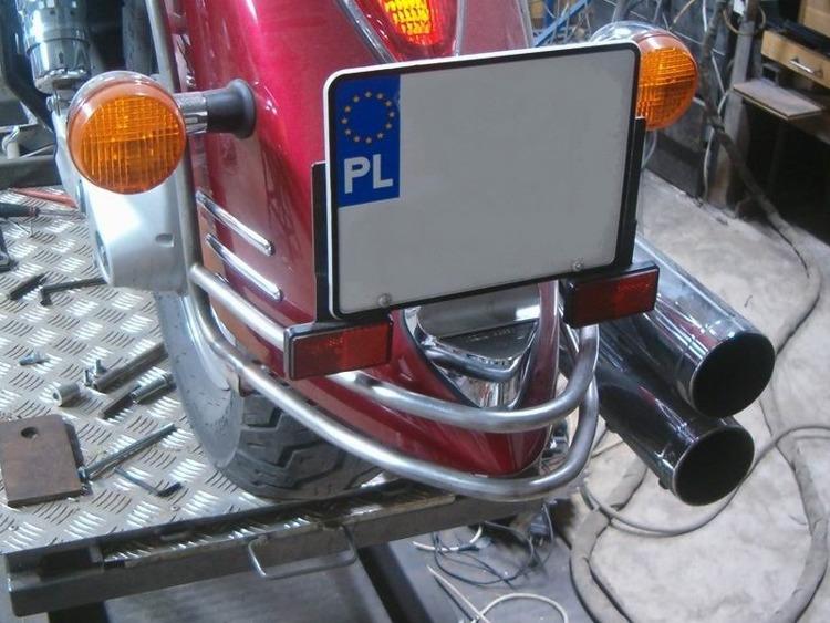 rear fender rail HONDA VTX 1300 R/S/T RETRO | Brands \ M