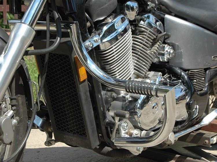 front engine guards with footrests HONDA VLX 600 SHADOW