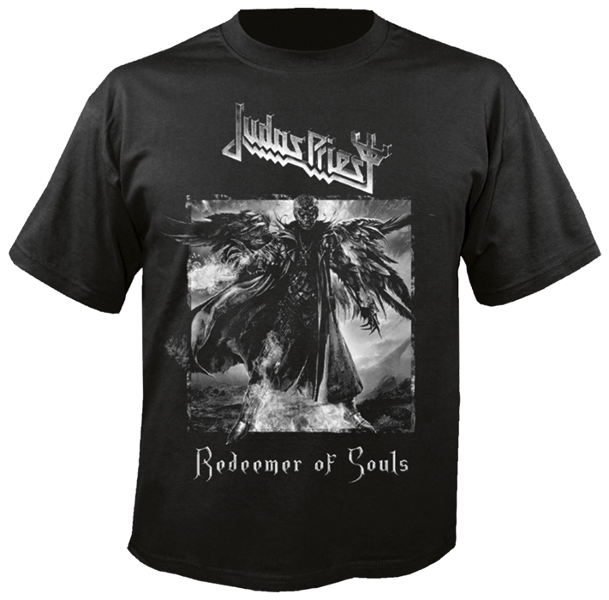 short sleeve T-Shirt NUCLEAR BLAST JUDAS PRIEST REDEEMER OF SOULS ... 5da78163b