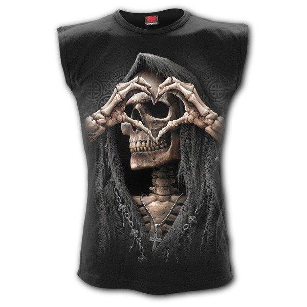 77ef6f0b55a717 sleeveless T-Shirt SPIRAL DARK LOVE